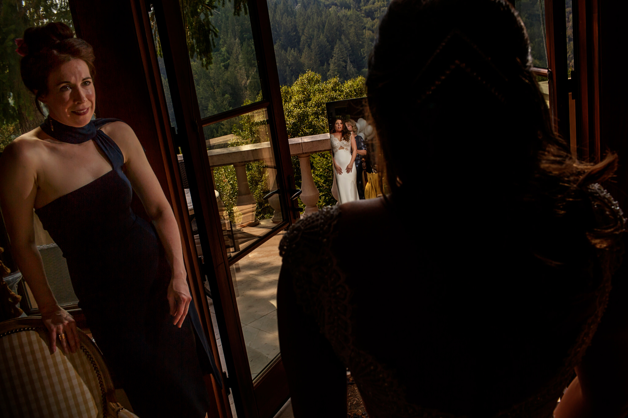 Emily and Chad's wedding in Napa Valley, California.