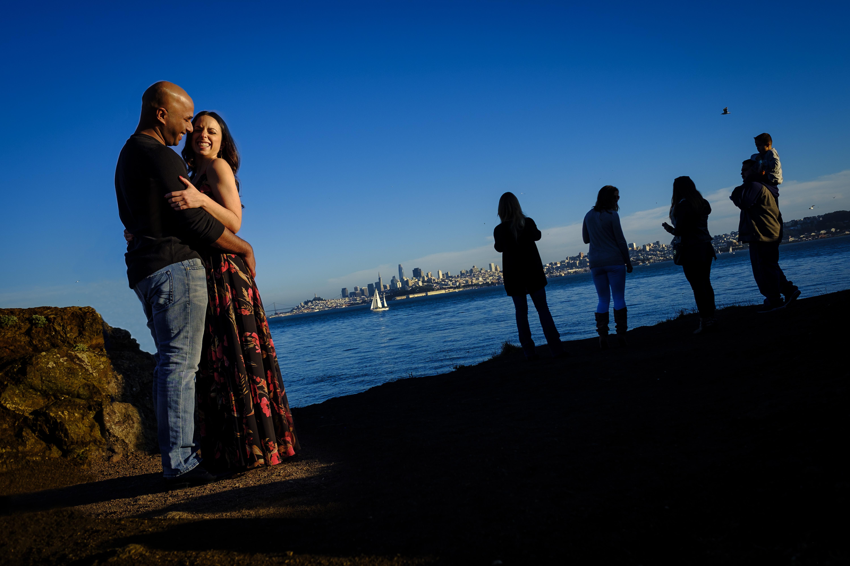 engagement, Travis Marina, Sausalito