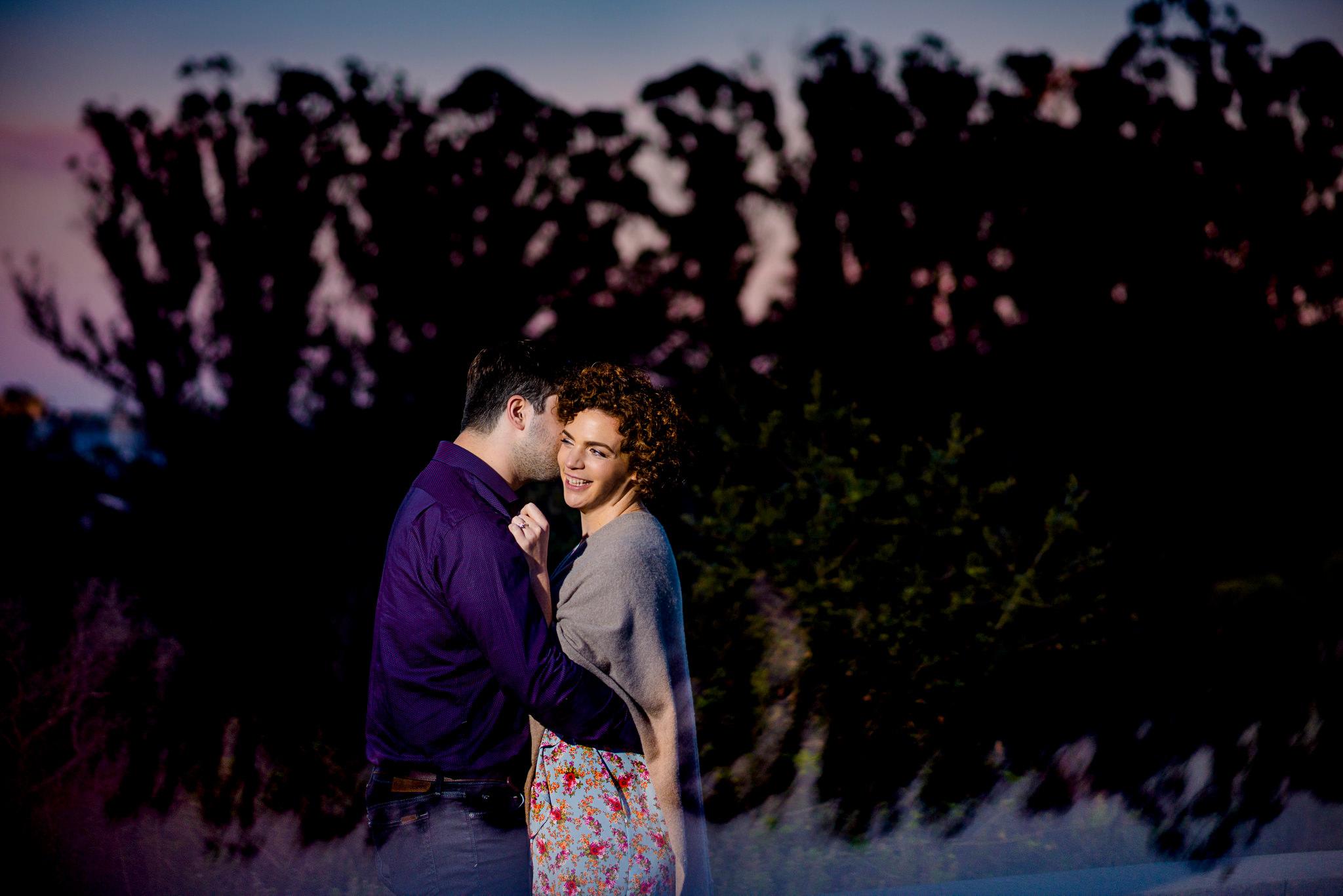 engagement, Lover's Lane, Presidio, San Francisco