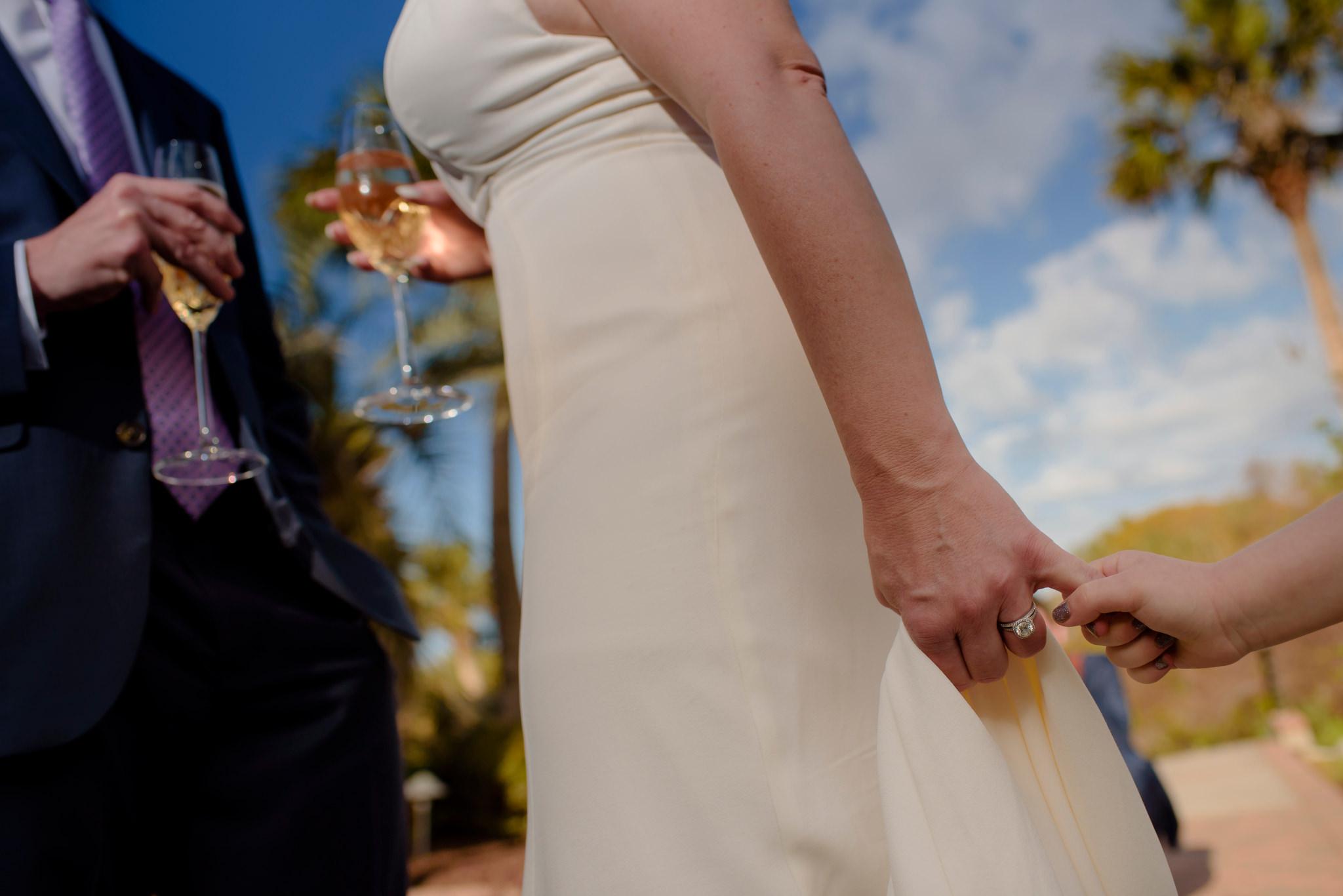 Erica and Tom's wedding on Kiawah Island, South Carolina.